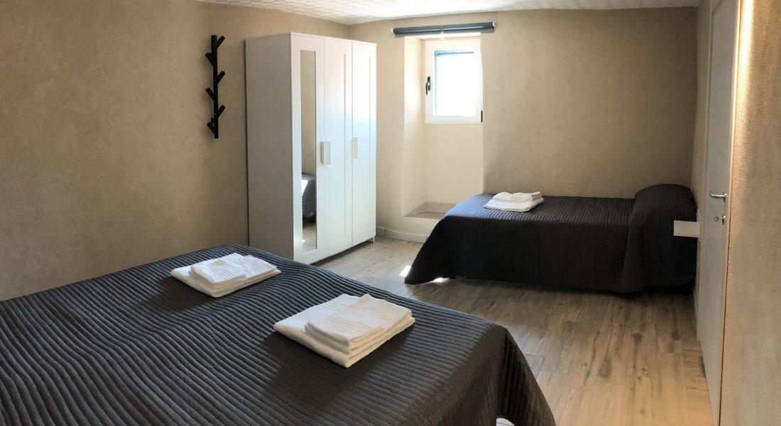 camera 1 Mariot b&b bed & breakfast Castelmezzano dolomiti lucane comfort riposo relax